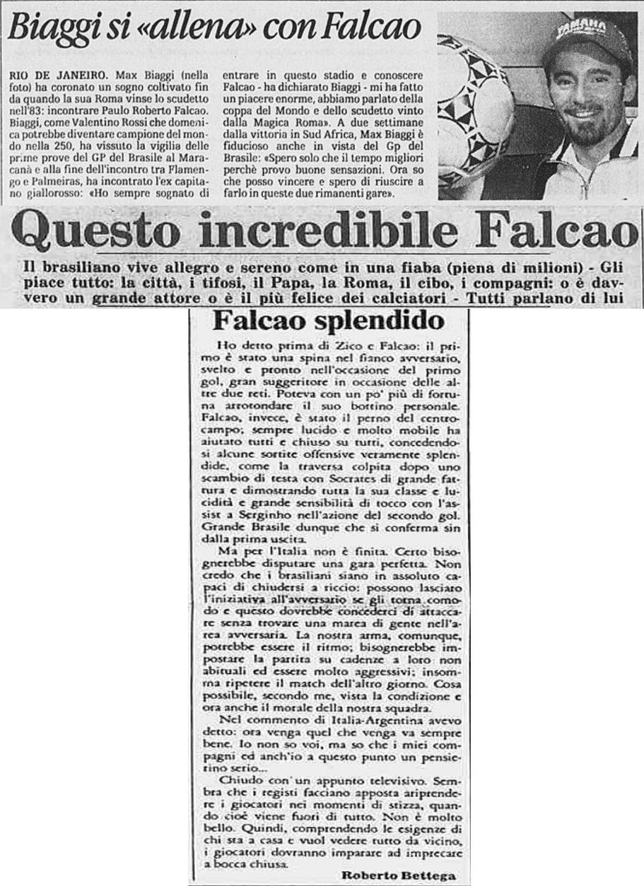 ARCHIVIO LA STAMPA FALCAO.