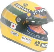 Il casco di Senna